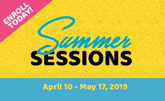 SUMMER 2019  April 10- May 17, 2019